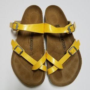 906eb6f38ac Vintage Birkenstock Camel Leather. Sz 41N. M 5abeed1b1dffda182521ec8f.  Other Shoes you may like. Birkenstock Mayari Amber Yellow Sandals 39